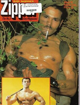 Vintage Gay Magazine - Zipper Magazine No 44