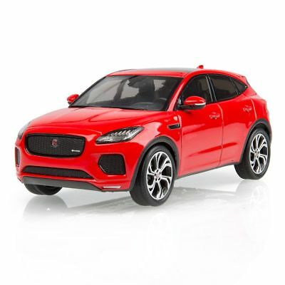 JAGUAR E-PACE 1:43 SCALE MODEL - CALDERA RED - Genuine JEDC279RDY