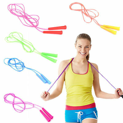 1 Pc Speed Wire Skipping Adjustable Jump Rope Fitness Sport Exercise Hot Sale