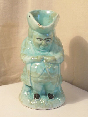 Green Toby Jug, No.2, Made in England, 15cm