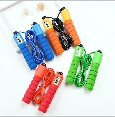 Children Kids Skipping Rope With Counter Jump Fitness Exercise & Handle Durable
