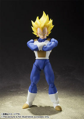 Dragon Ball Z Vegeta Ss S.h. Figuarts Bandai New Figure
