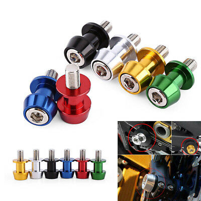 8mm/10mm Motorcycle Spools 8/10mm Swingarm Stand Sliders Starting Cnc Bobbins