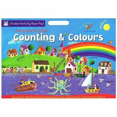 Early Learning Fun Sticker Activity Floor Pad - Counting & Colours