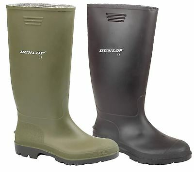 Mens & Ladies Dunlop Wellingtons Mens Wellies Womens Rain Shoes