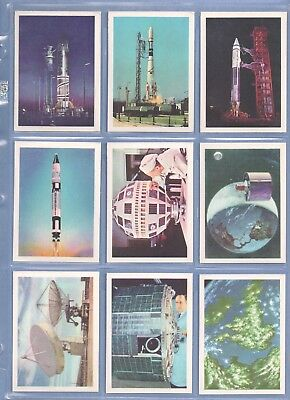 Vintage SPACE (1967) Anglo Confectionery FULL (66/66) Card Set !!!