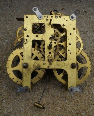 Wm Gilbert clock movement. Spares / repair