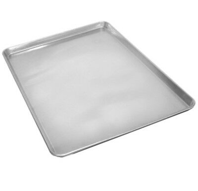 Set Of 2 Commercial Grade 18 X 13 Half Size Aluminum Sheet Pan For Baking Cookie