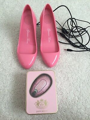 Gimme Tunes High Heel PC Speakers & Juicy Couture Wireless Mouse