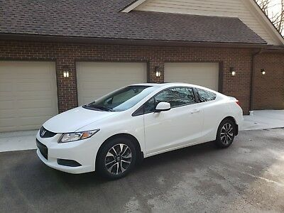 2013 Honda Civic  2013 HONDA CIVIC EX COUPE - AUTOMATIC - 1 OWNER - LOW MILES - CLEAN TITLE