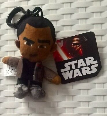 Star Wars Finn Keyrings / Keychains with clip New