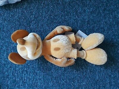 Disney Store Mickey Mouse Memories Plush Toy February New with tags. Rare