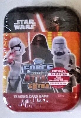 STAR WARS Force Attax EXTRA Tin von TOPPS Trading Card