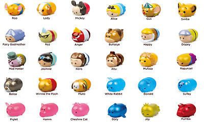 Disney Tsum Tsum Series 1 Squishy Vinyl Figures Squishies