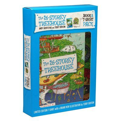 The 26-Storey Treehouse Book & T-Shirt Pack Educational Toys Books