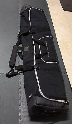 Burton Snowboard Travel Bag 165 Snowboarding Super Padded Purchased In USA
