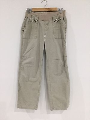 Pumpkin Patch Maternity Stretch Cargo Style pants Small Super Comfy [P3]