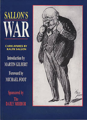 Sallon's War: Caricatures - New Book Ralph Sallon