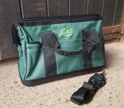 Lister Clipper Holdall Bag with pockets for Clippers Blades Oil Green One Size