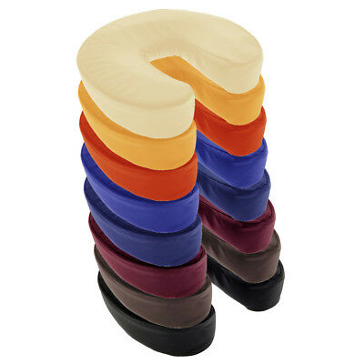 Massage Table Face Cradle Cushion - Head Rest Pillow - 8 Colors - Velcro Back