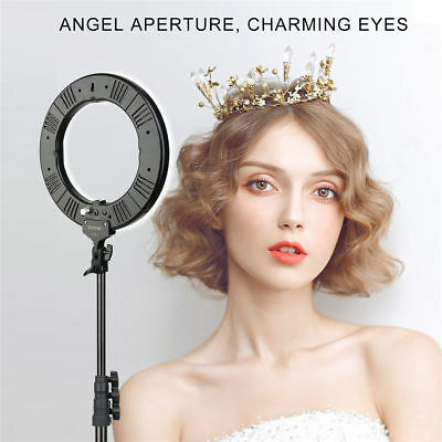 "14"" LED Photography Ring Light Dimmable 5500K Lighting Photo Video stand FL"