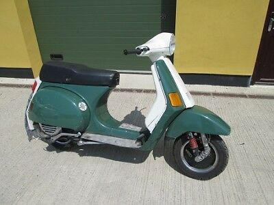 1988 Vespa cosa 125 with 180 cylinder kit