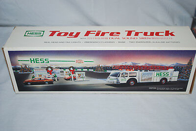 Hess 1989 Toy Fire Truck NEW IN ORIGINAL BOX!