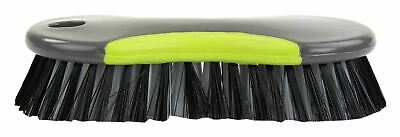 Home Basics Brilliant Scrubbing Brush, Grey/Lime - PB41503