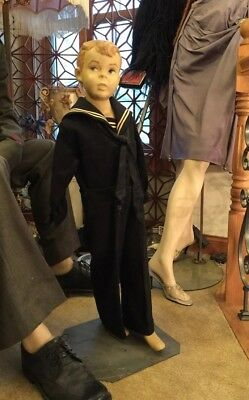 Little Boy Mannequin Vintage