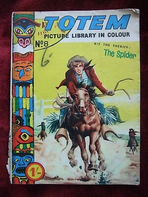 Totem Digest Comic Kit the Sheriff No 8 1962 Printed by Angelo Fasani in Colour