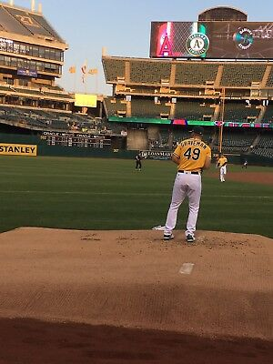 Front Row Bullpen- Oakland Athletics A's Vs Tampa Bay 2 Tickets May 30 5/30