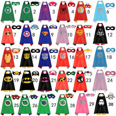 Cape for kid birthday party favors and ideas Kids Superhero Cape (1 cape+1 mask)
