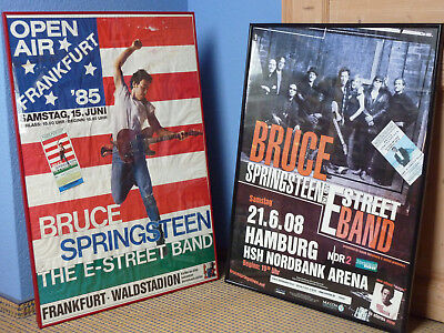 33 Jahre altes original 1985 Born in the USA Poster Bruce Springsteen + Tickets!