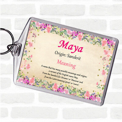 MAYA PERSONALISED NAME Meaning Certificate - £4 99 | PicClick UK
