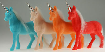Set Of 4 Flock Unicorn Horse Toys
