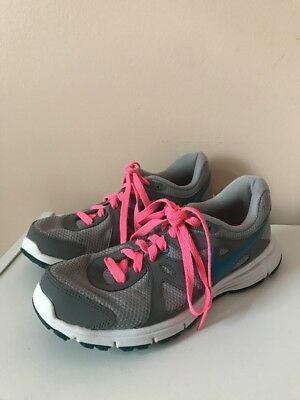 official photos 86a98 2b4e0 Women s Size 7.5 NIKE REVOLUTION 2 Running Shoes Gray Pink Blue  554900-006