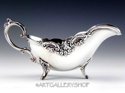 Wallace Silverplate BAROQUE GRAVY SAUCE BOAT ONLY NO UNDERPLATE