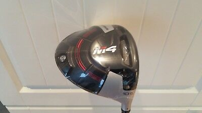 Taylor Made M4 2018 Brand New Driver - 10.5 Regular + Tool + Cover