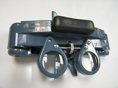 Abrams 2-4 StereoScope Model CB-1