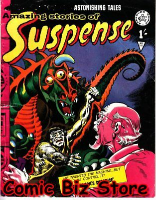 Astonishing Stories Of Suspence #106 (1966) 1St Print Uk Silver Age Alan Class