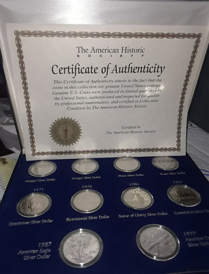 American Silver Dollars Of The 20Th Century