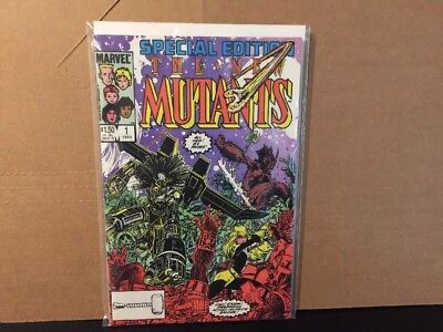 The New Mutants Special Edition 1 NM High Grade Marvel Comics 1985
