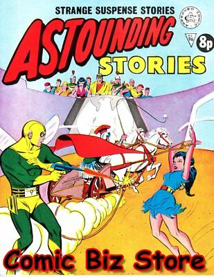 Astounding Stories #96 (1973) 1St Printing Uk Bronze Age Alan Class
