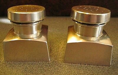 George Washington Sterling Silver Salt And Pepper Shakers