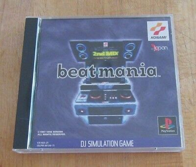 Beatmania 2nd Mix DJ Simulation Game Sony PlayStation 1 Japan Import PS1