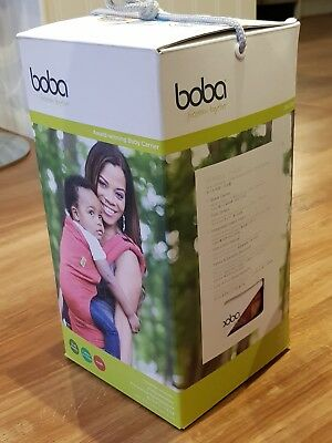 boba moab 4G baby carrier