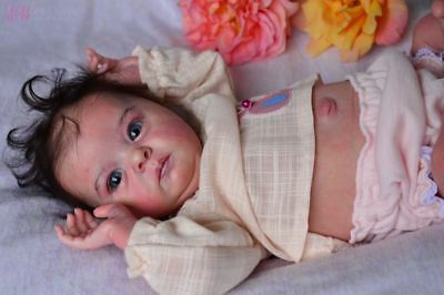 "Reborn Baby Girl Doll Preemie "" TINK "" by Bonnie Brown, total beautiful baby !"