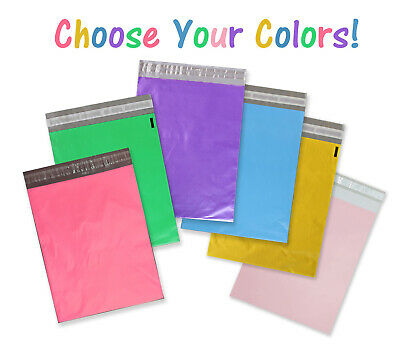 14.5x19, 12x15.5, 10x13, 6 Color Poly Mailers Self Sealing Shipping Bag Envelope