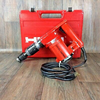 HILTI-TE 22 & Case Rotary Hammer Drill SDS Plus TE-C Excellent Corded power 6 C