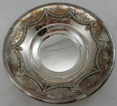Sterling Silver 925 Round Shaped Candy/Fuirt Bowl VERY VINTAGE NEW LOOK 144G